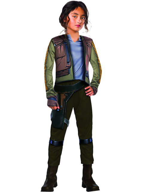 Disfraz de Jyn Erso Star Wars Rogue One para niña