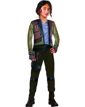 תלבושות אחת Rogue Star Wars Erso Jyn של ילדה