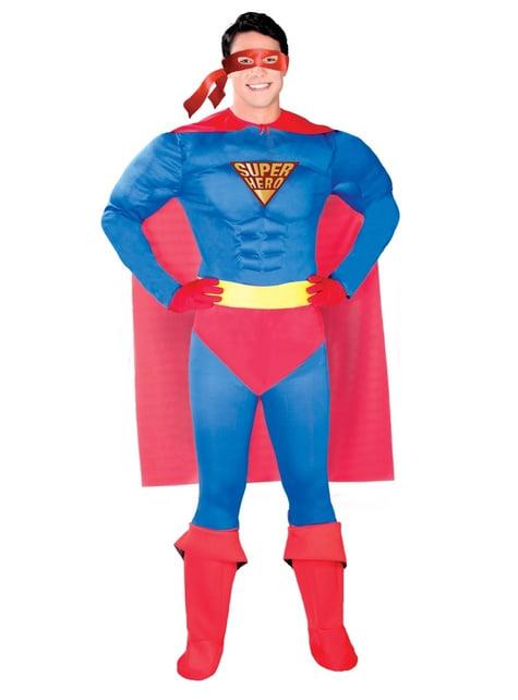 Disfraz de súper héroe clásico
