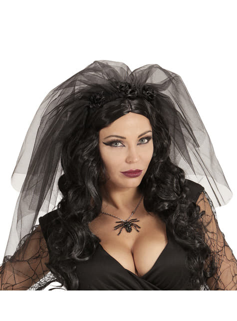 Woman's Deceased Bride Veil