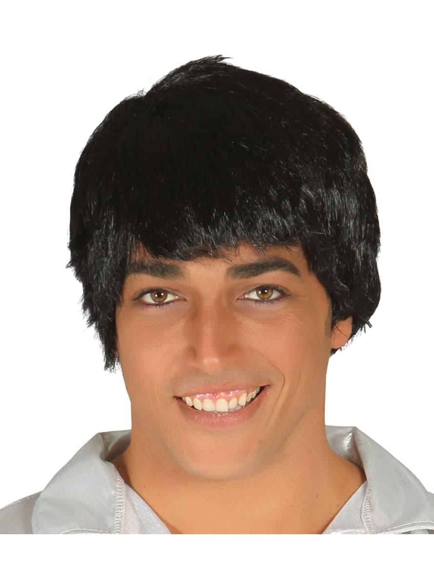 black mens wig buy online at funidelia