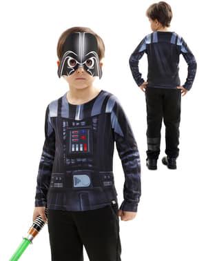 Camisola de Darth Vader hiper-realista para menino