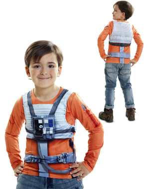 Boy's Hyper realistic Luke Skywalker T-shirt