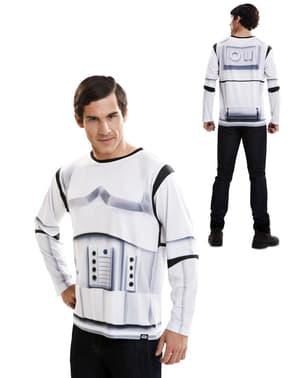 Realistisk Stormtrooper t-shirt til voksne