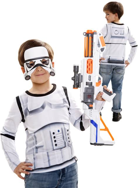 Camiseta de Stormtrooper hiperrealista para niño - infantil