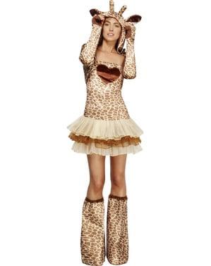 Déguisement de girafe Fever pour femme