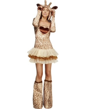 Fever Giraffe Girl Adult Costume