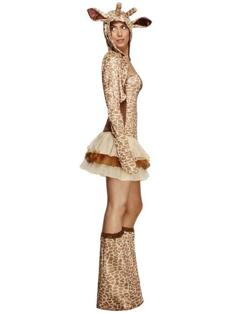 Fato de girafa Fever para mulher
