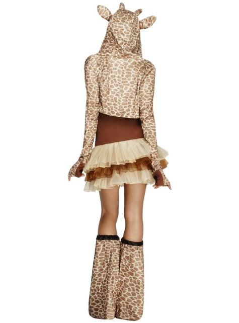 Groznica Žirafa Djevojka za odrasle kostim