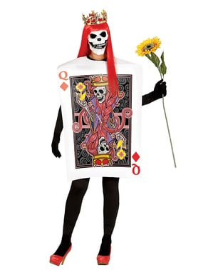 Woman's Queen of Skulls Card Costume