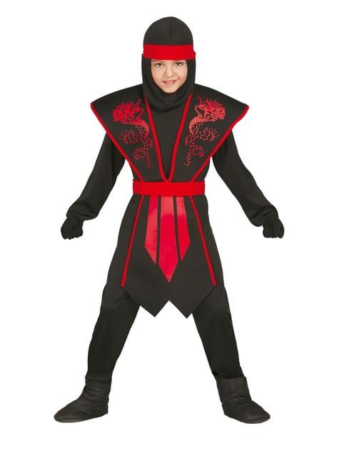 Schatten Ninja Kostüm für Jungen