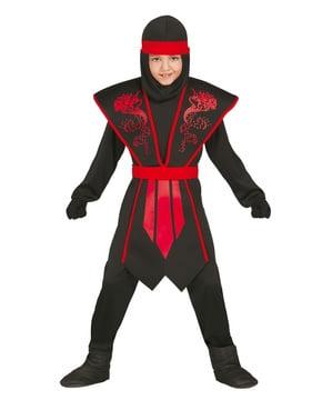 Skyggeninja Kostyme til Gutter