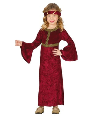 תלבושות מימי הביניים עבור נערות