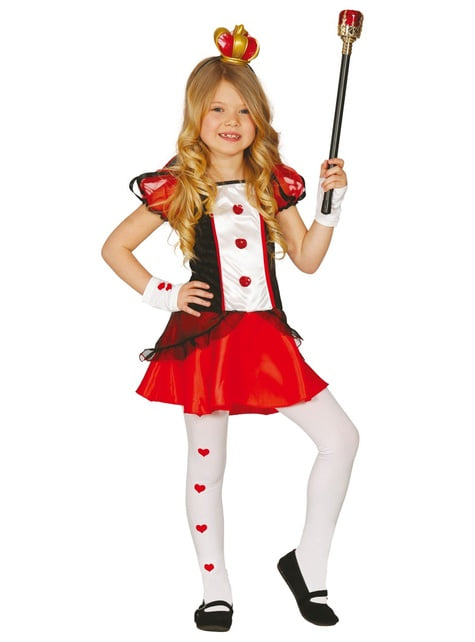Lady of Hearts Costume for Girls