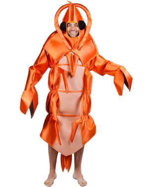 Shrimp Adult Costume
