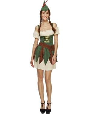 Costume da principessa dei boschi