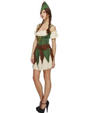 Dámský kostým lesní princezna