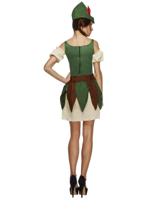 Disfraz de princesa de los bosques Fever