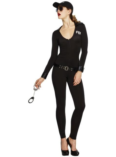 Déguisement de FBI sexy pour femme