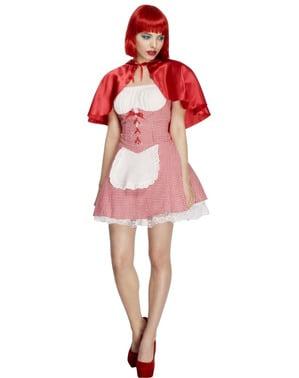 Sexy Rotkäppchen Damen Kostüm