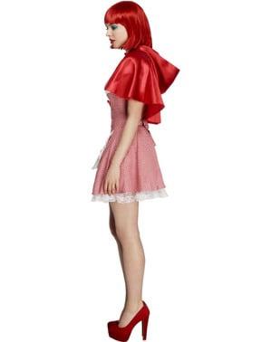 Déguisement du Chaperon Rouge sexy pour femme