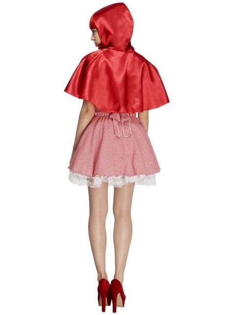 Disfraz de Caperucita roja para mujer - original