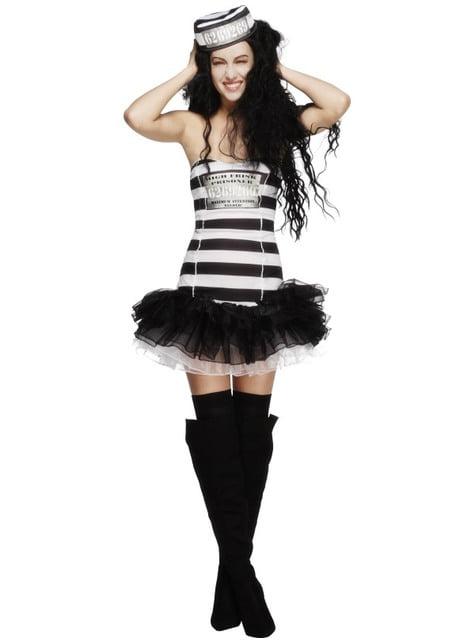 Sexy Female Convict Costume