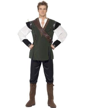 Modige Robin i Skogen Kostyme Voksen