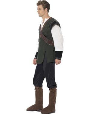Kostým pro dospělé neohrožený lesní zbojník Robin