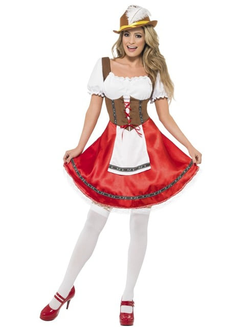 Dirndl Oktoberfest Kostuum voor vrouw