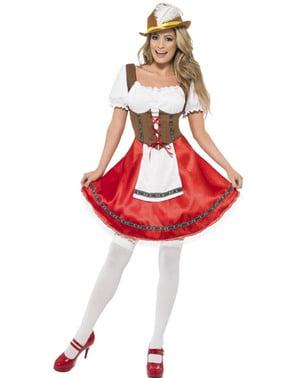 Costum de ospătăriță sexy pentru femeie