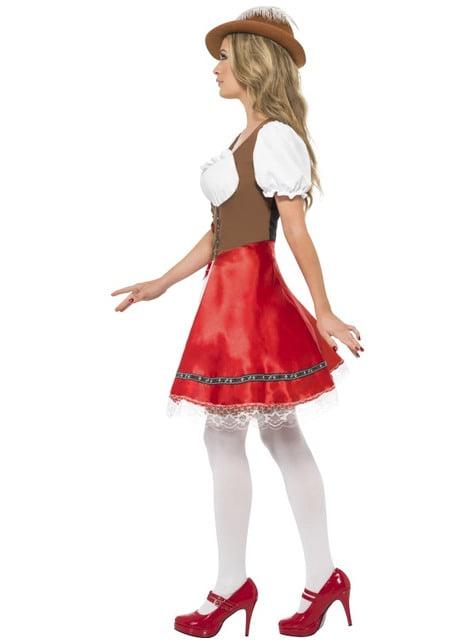 Секси костюм на средновековна гостоприемница за възрастни