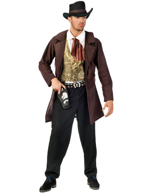 Wild west cowboy adult costume