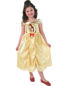 Belle fairytale costume for a girl