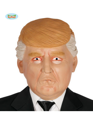 Præsident Trump maske til voksne