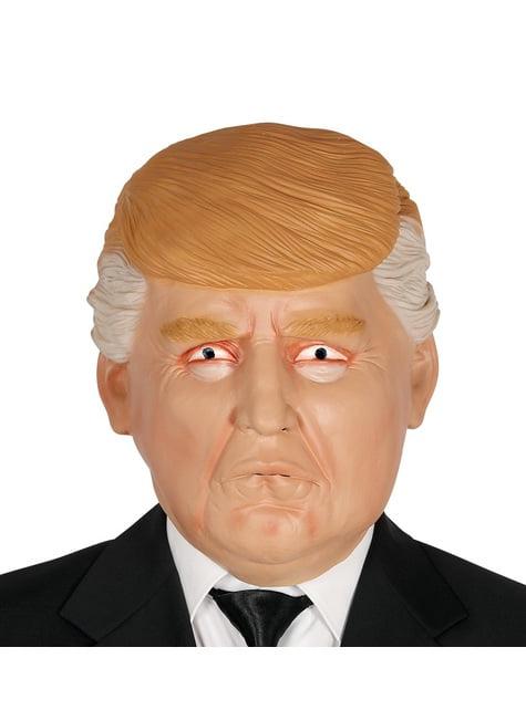 Máscara de Presidente Trump para adulto - para tu disfraz