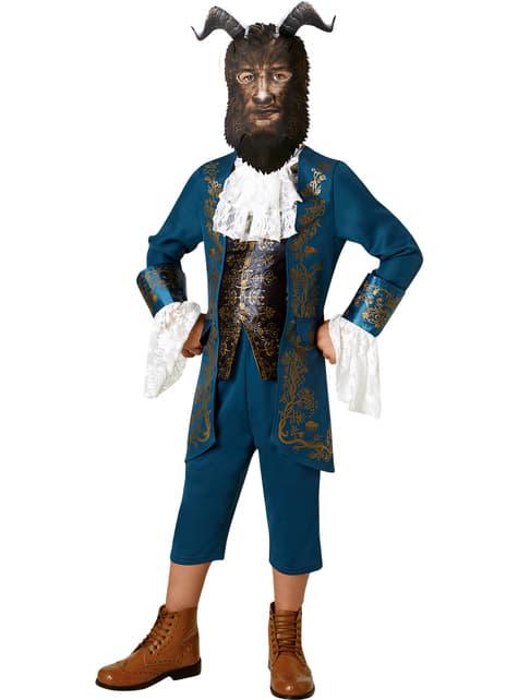 Biest Kostüm aus dem Film Die Schöne und das Biest für Jungen