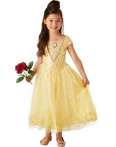 Costume da Belle La Bella e la Bestia Film deluxe per bambina