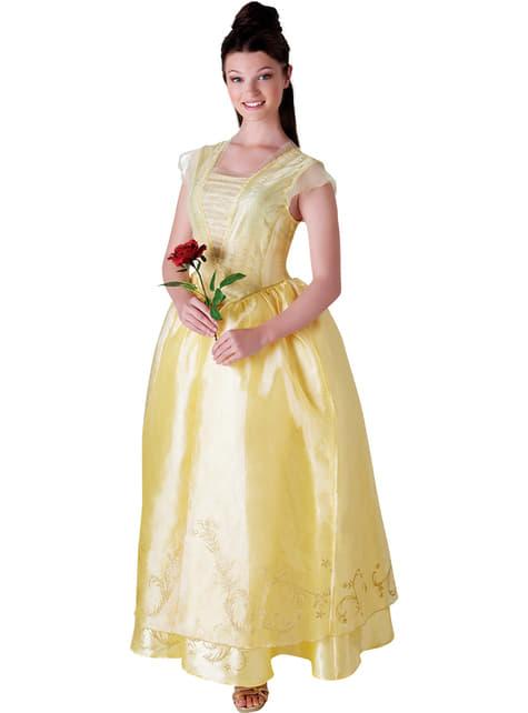 Skønheden og Udyret Belle kostume til kvinder