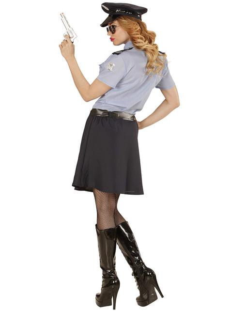Disfraz de policía clásica para mujer - mujer