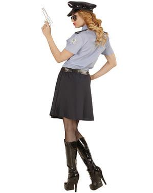 Fato de polícia clássica para mulher