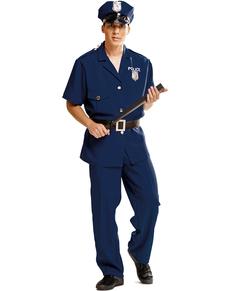 Disfraz de policía urbano sexy para hombre