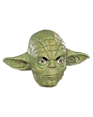 Masker ¾ van Yoda van vinyl