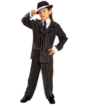 Disfraz de gángster años 20 para niño