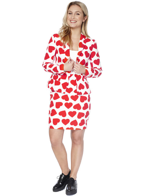 Queen of Hearts Opposuit til Damer