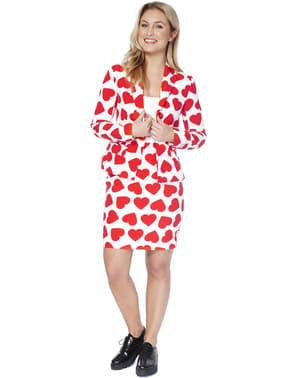 Queen of Hearts Opposuit dragt til kvinder