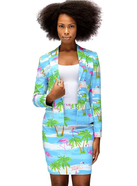 Flamingirl Opposuit Anzug für Damen