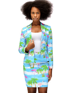 Costume Flamant Rose femme - Opposuits