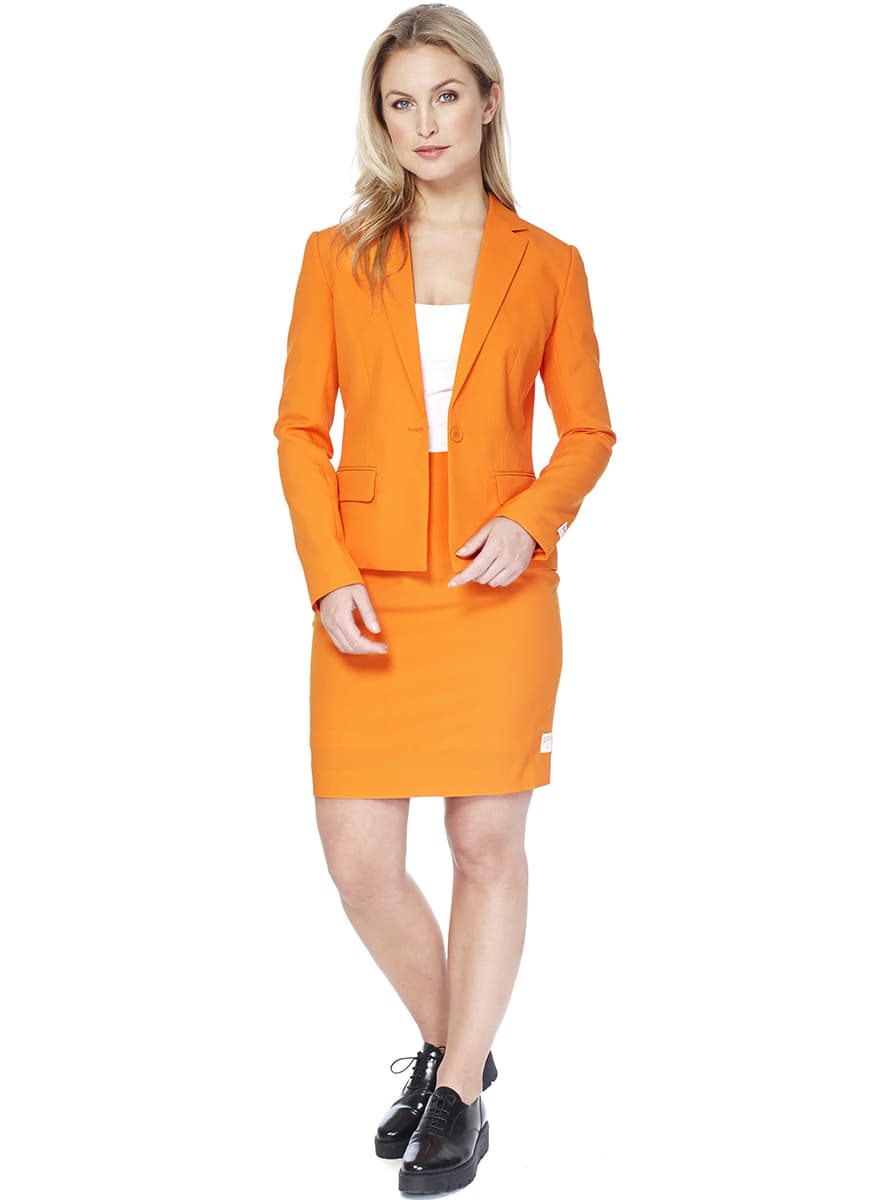 Funidelia women's foxy orange opposuit