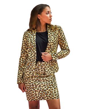 Fato de leopardo